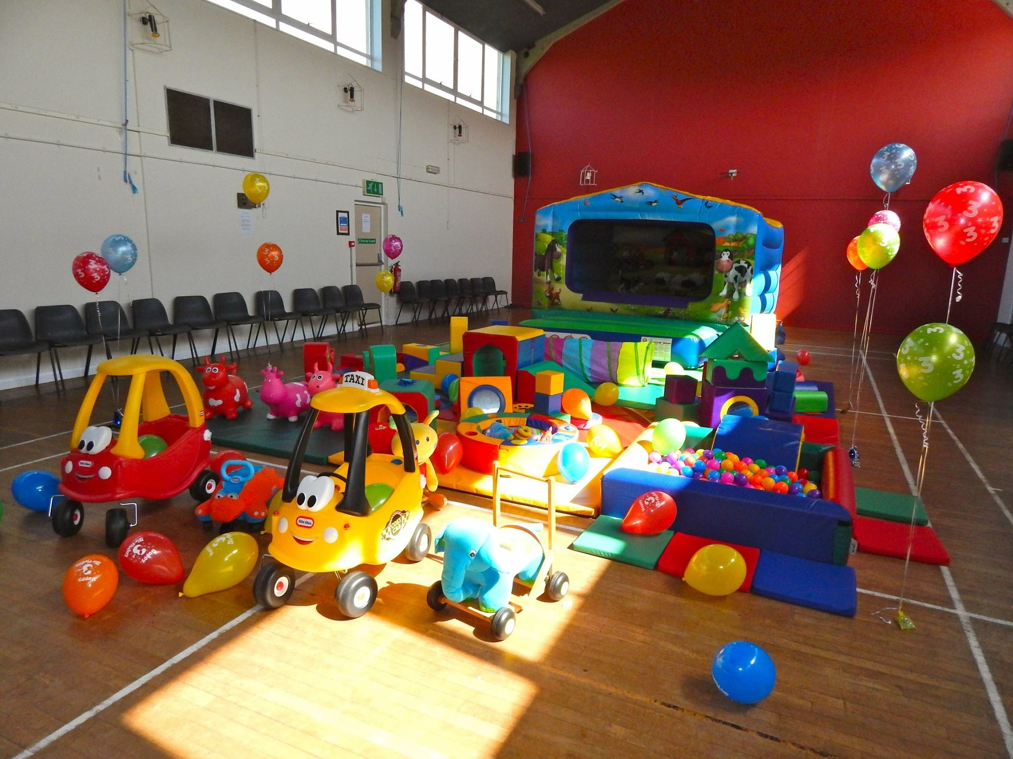 Soft play parties for children - West Cornwall, Penzance